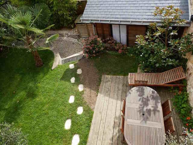 Tours ravissante maison de ville avec jardin agence immobiliere une demeure en touraine - Maison de ville avec jardin ...