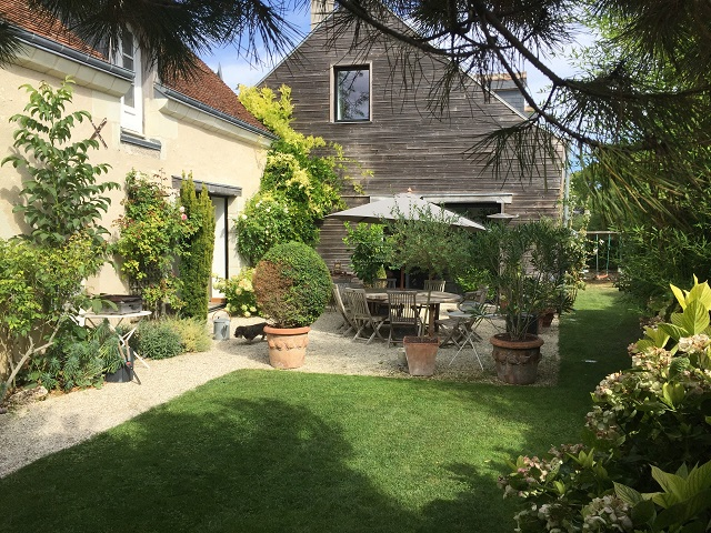Ravissante Maison Ancienne Restauree Tres Joli Jardin Avec